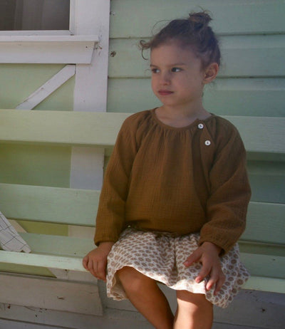 June Kids Anais Blouse - Tiny People Cool Kids Clothes Byron Bay