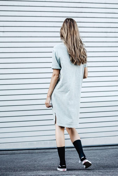 Women's Anita Dress Grey Melange