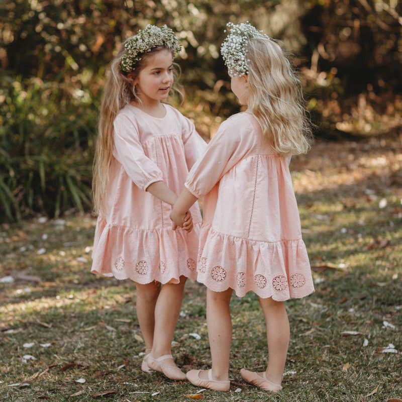 Aubrie Anne of Avonlea Dress in Ballet Pink at Tiny People Shop Australia.