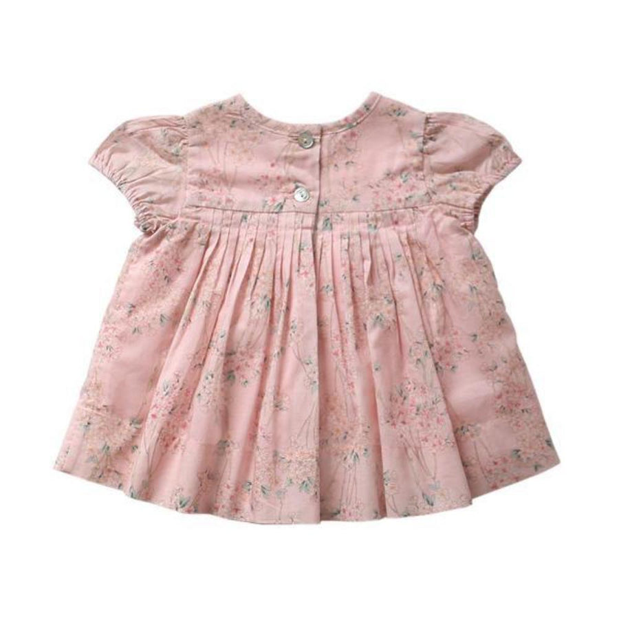 Aubrie Adeline Babydoll Smock - Sakura Print - Tiny People Cool Kids Clothes Byron Bay