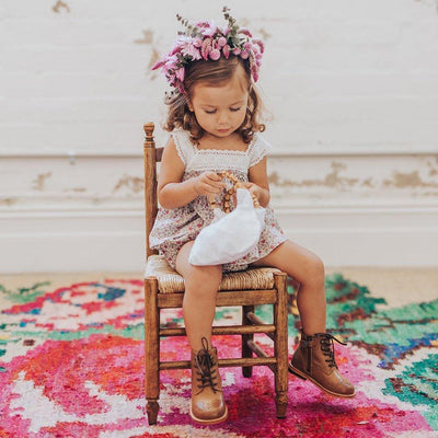 Aubrie Carmen Camisole - Flores Floral - Tiny People Cool Kids Clothes Byron Bay
