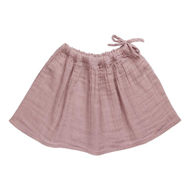Ava Midi Skirt Dusty Pink