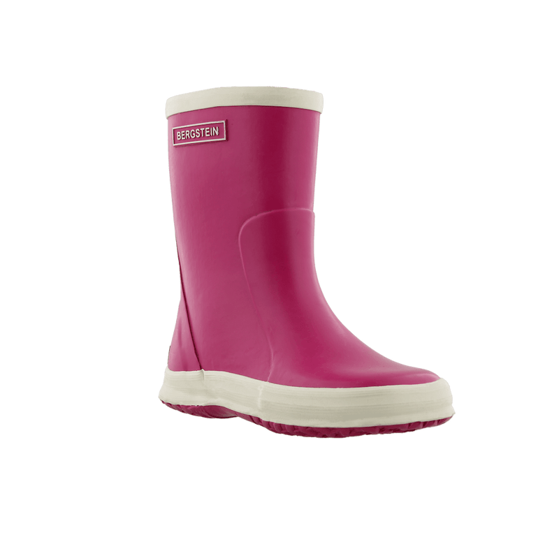BERGSTEIN Gumboots Fuxia Footwear - Tiny People Cool Kids Clothes