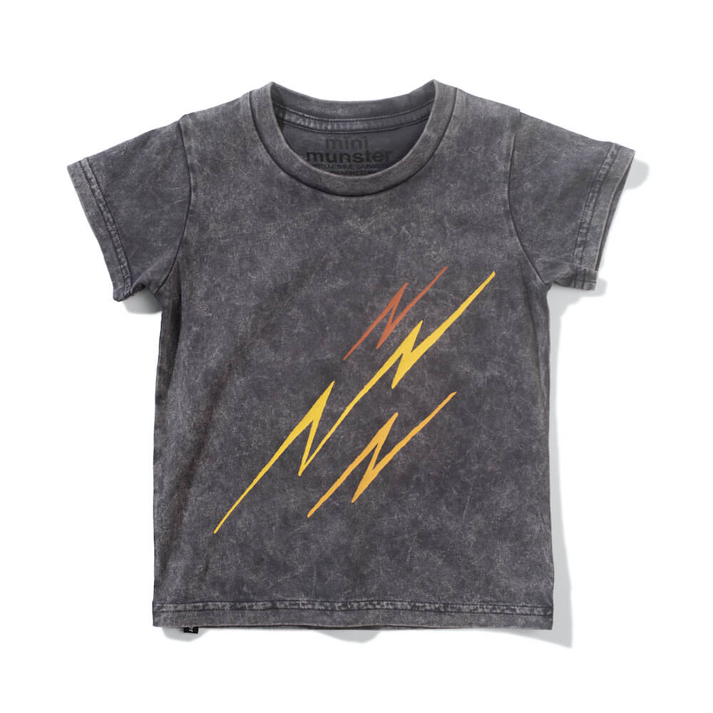 Mini Munster Bowie Bolts Tee | Tiny People