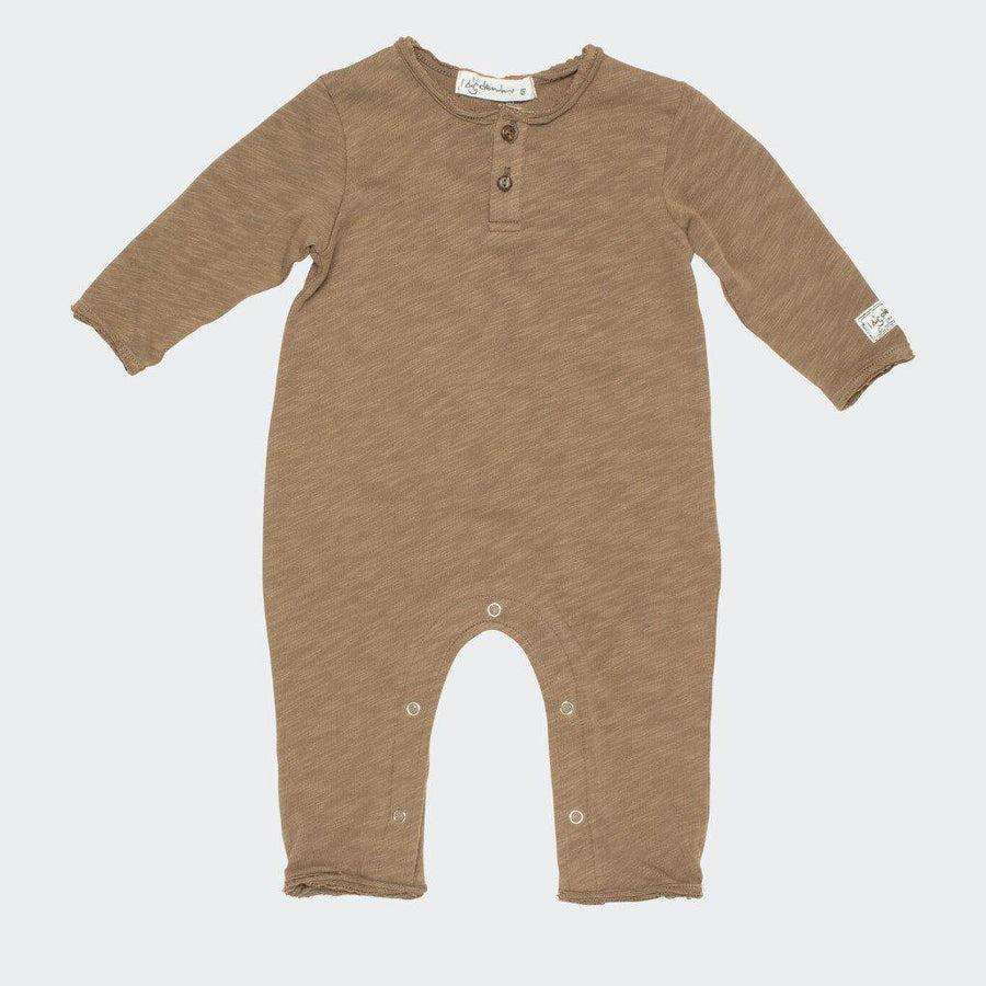 I Dig Denim Barney Jumpsuit - Brown - Tiny People Cool Kids Clothes Byron Bay