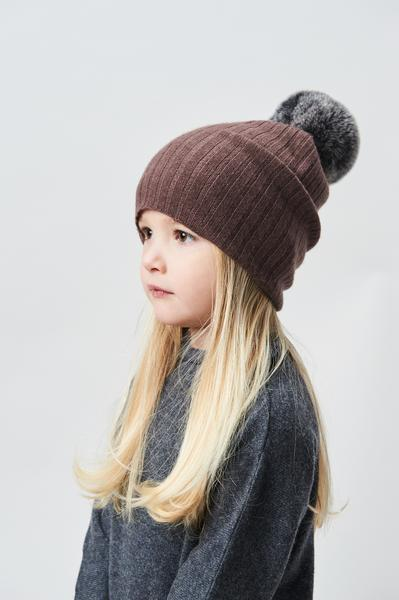 Belle Enfant Pompom Hat - Berry - Tiny People Cool Kids Clothes Byron Bay