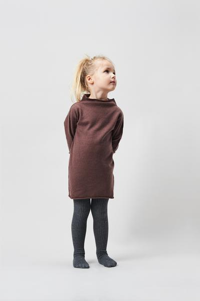 Belle Enfant Funnel Neck Dress - Berry Dresses | Skirts - Tiny People Cool Kids Clothes