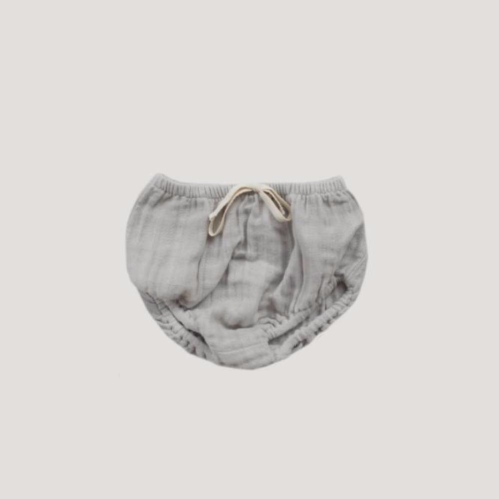 Jamie Kay Bloomers Light Grey Bloomers - Tiny People Cool Kids Clothes
