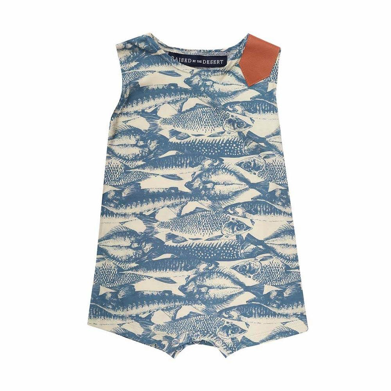 Raised By The Desert Bruce Romper Summer Skool | Tiny People
