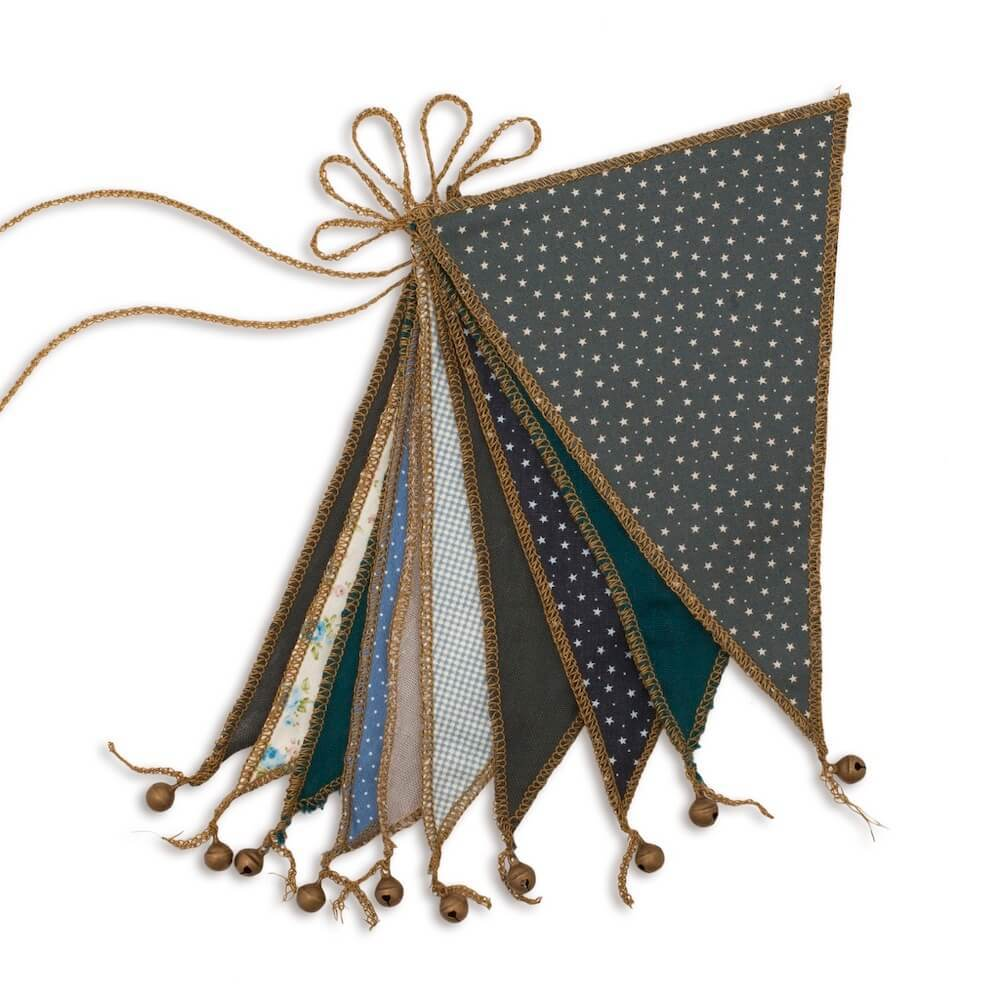 Garland Bunting Flags - Mixed Blue