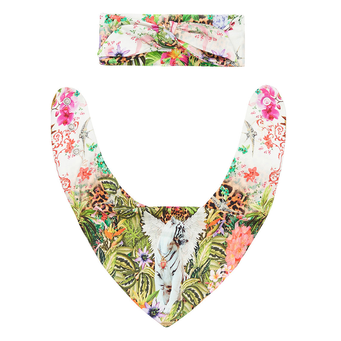 Fair Verona Headband and Bib Set
