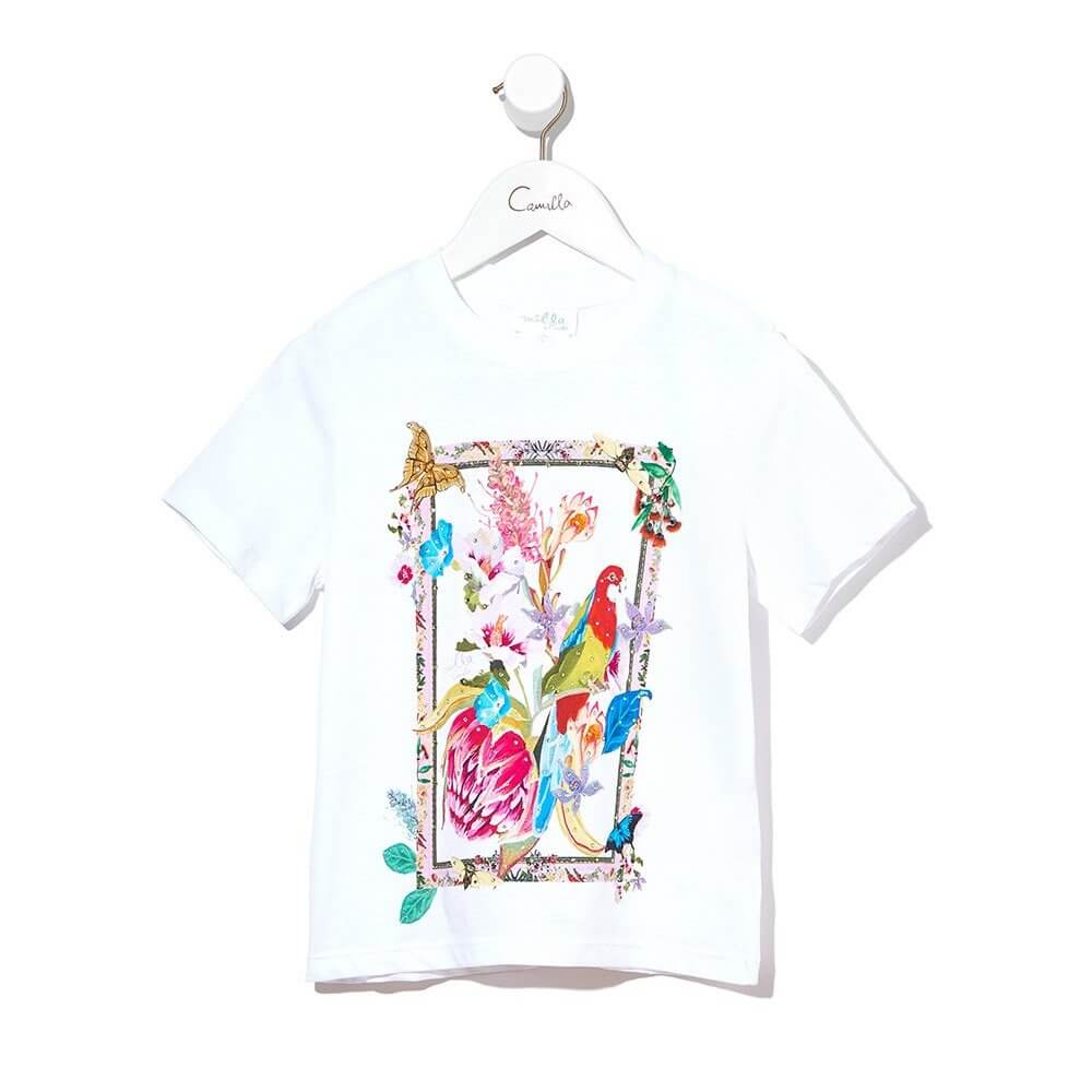 Camilla Homeward Found SS Tee | Tiny People