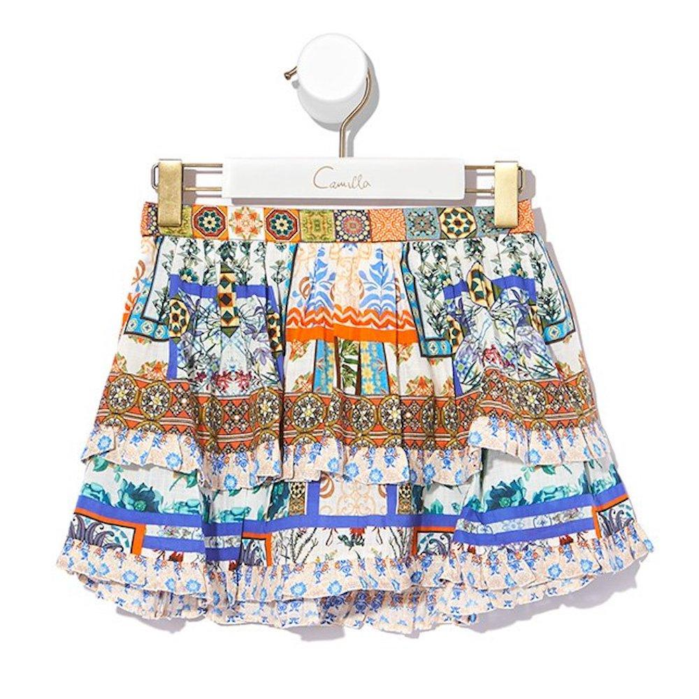 Camilla Gone Coast Double Layer Frill Skirt Skirts - Tiny People Cool Kids Clothes