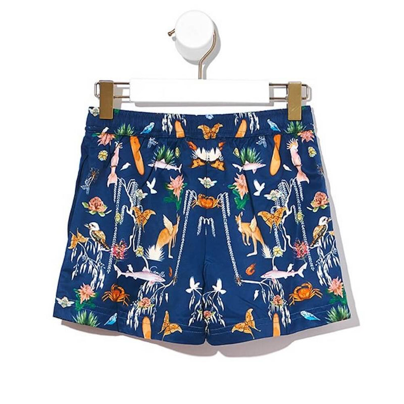 Camilla Desert Dance Boys Boardshorts | Tiny People