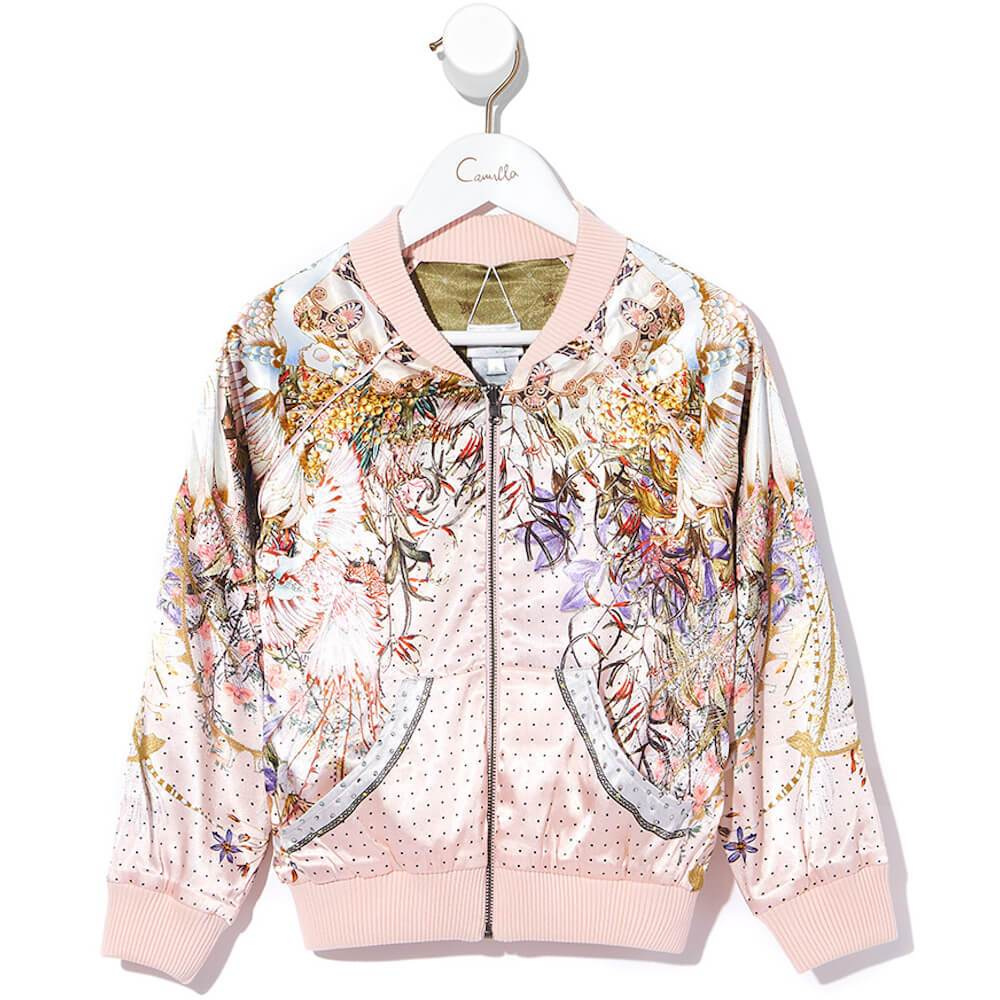 Kindred Skies Kids Reversible Bomber Jacket