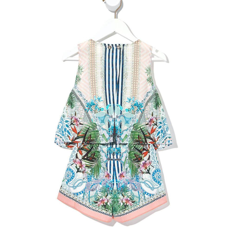 Beach Shack Double Layer Playsuit