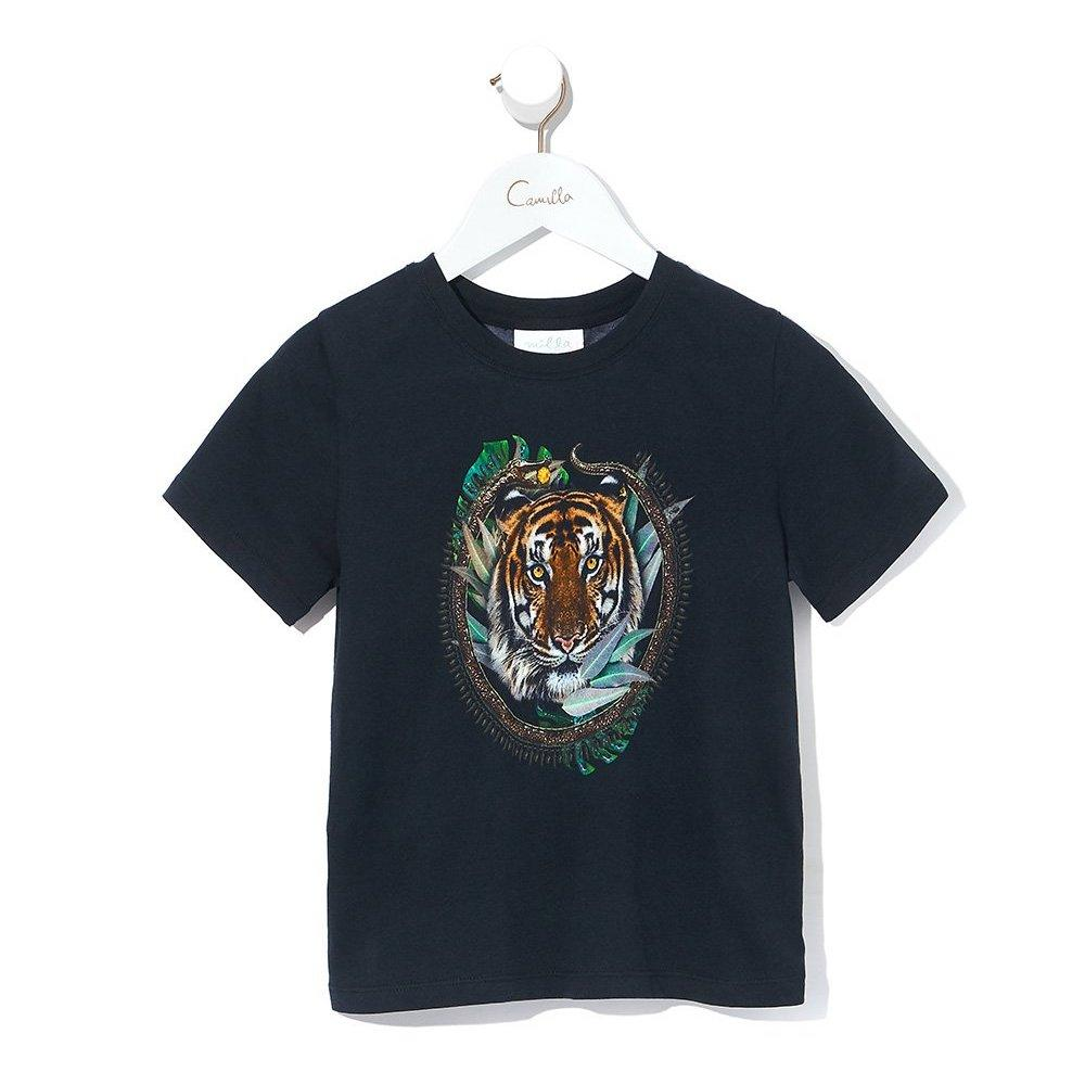 Camilla Lost Paradise Boys SS Tee Tops & Tees - Tiny People Cool Kids Clothes