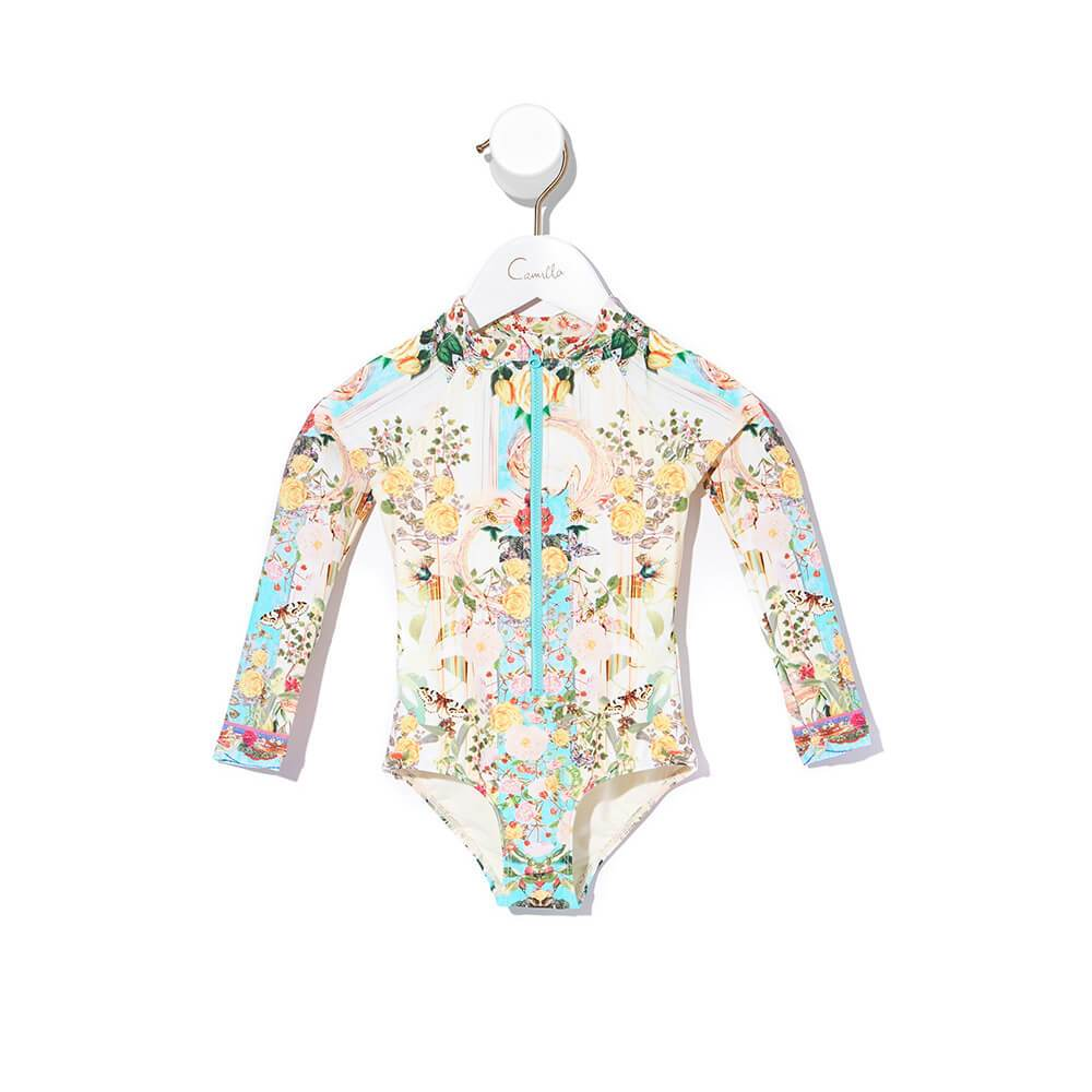 Tea and Honey Infants Paddlesuit