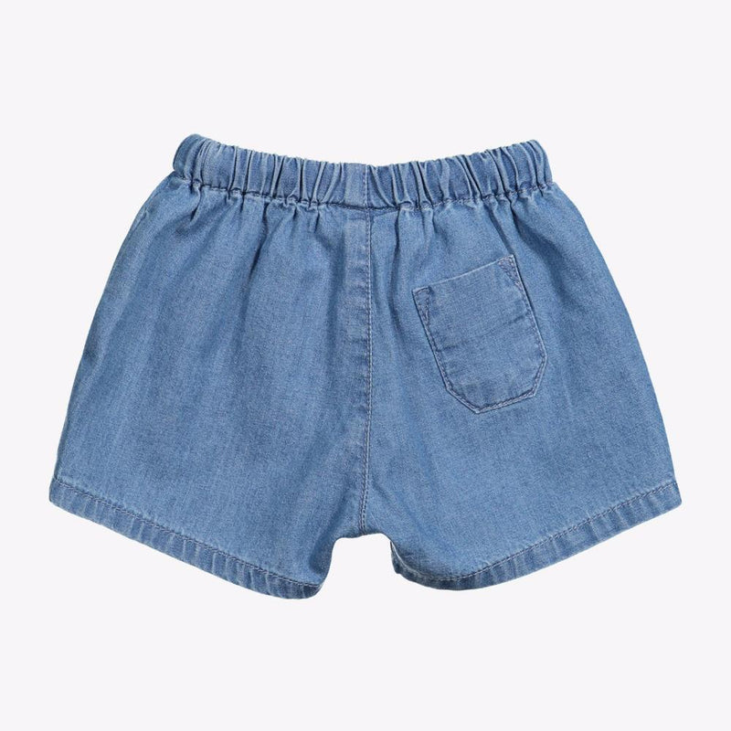 Knot Light Denim Shorts Baby Shorts & Bloomers - Tiny People Cool Kids Clothes
