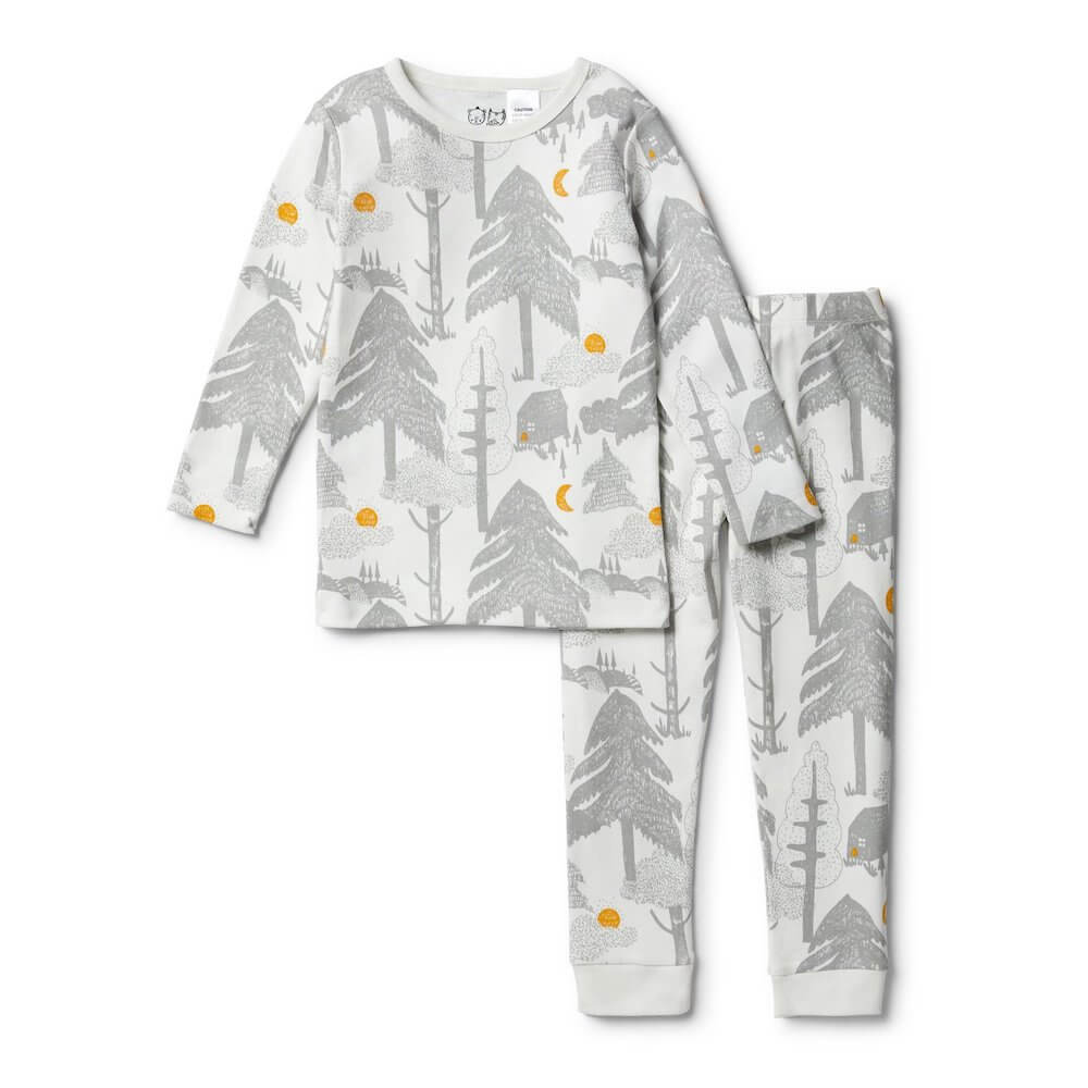 Wilson & Frenchy Little Wander Long Sleeve Pyjama Set | Tiny People