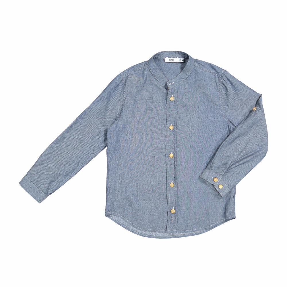 Chambray Shirt Mid Denim