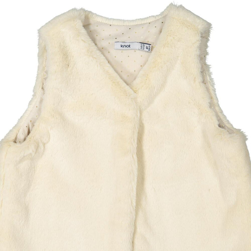 Knot Miranda Faux Fur Vest Pants - Tiny People Cool Kids Clothes