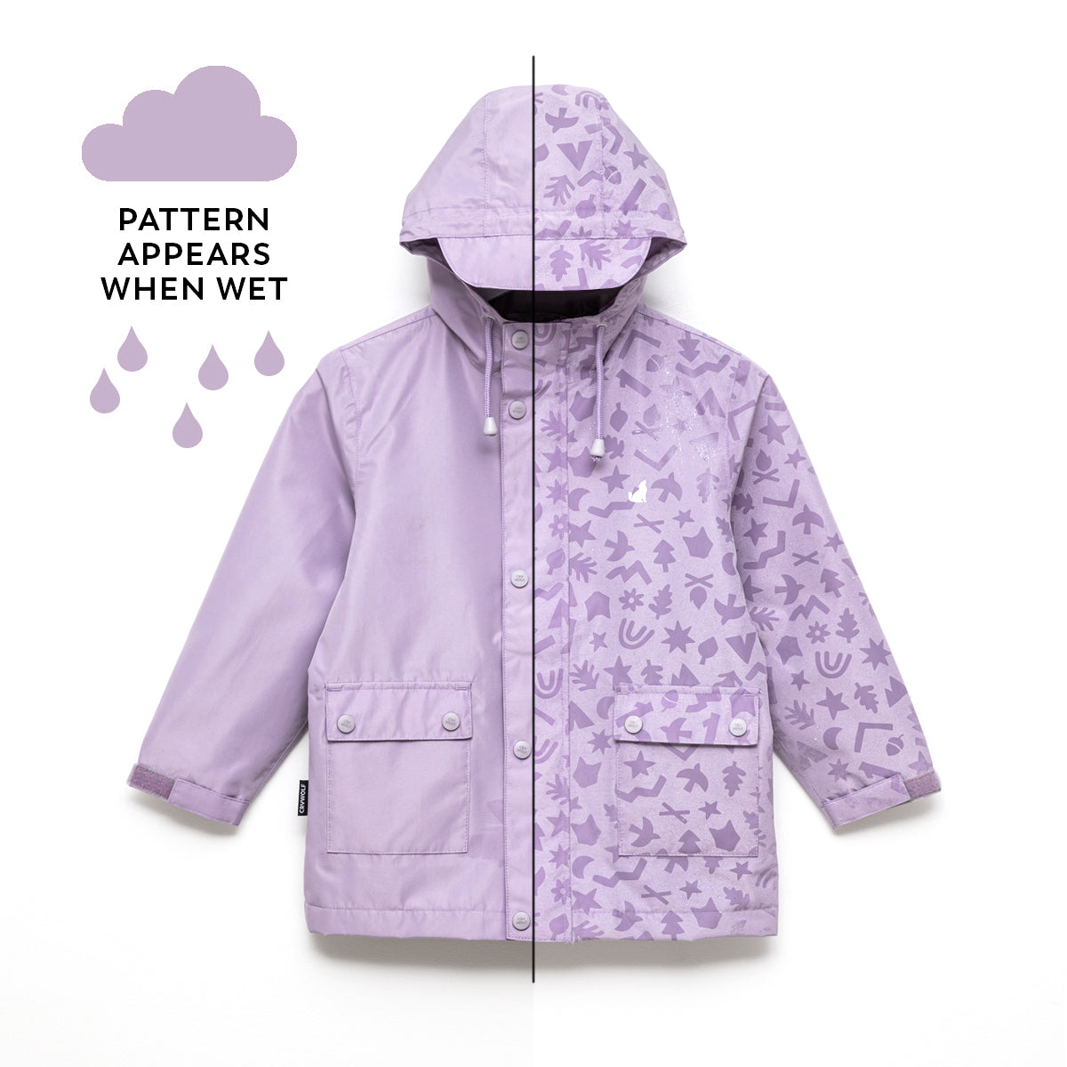 Magic Jacket Lilac Pop