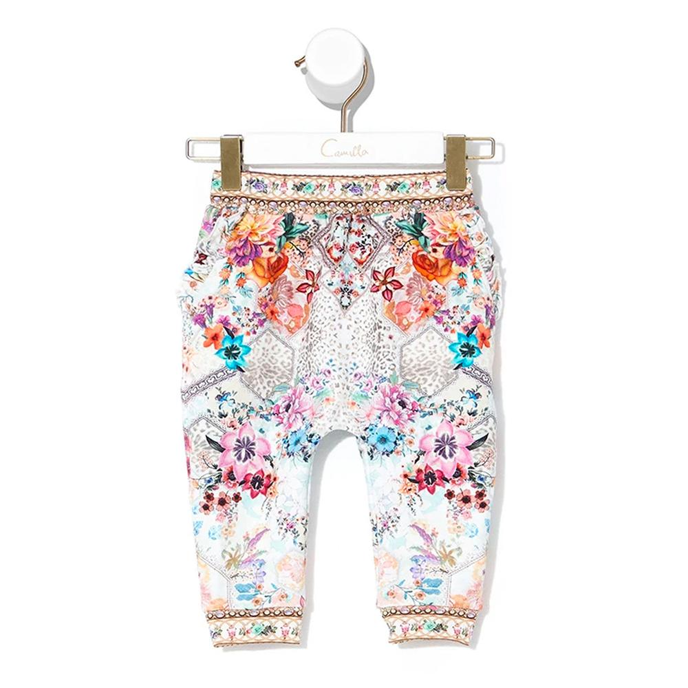 Camilla Sew In Love Babies Frill Drop Crotch Pant | Tiny People Australia