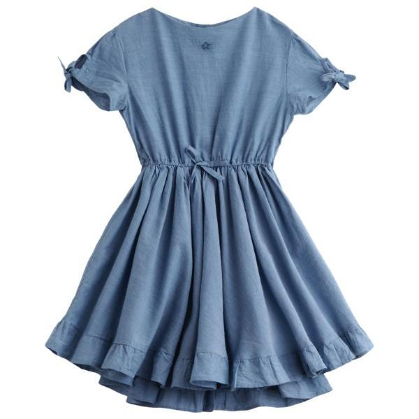 Tocoto Vintage Chambray Dress - Tiny People Cool Kids Clothes Byron Bay