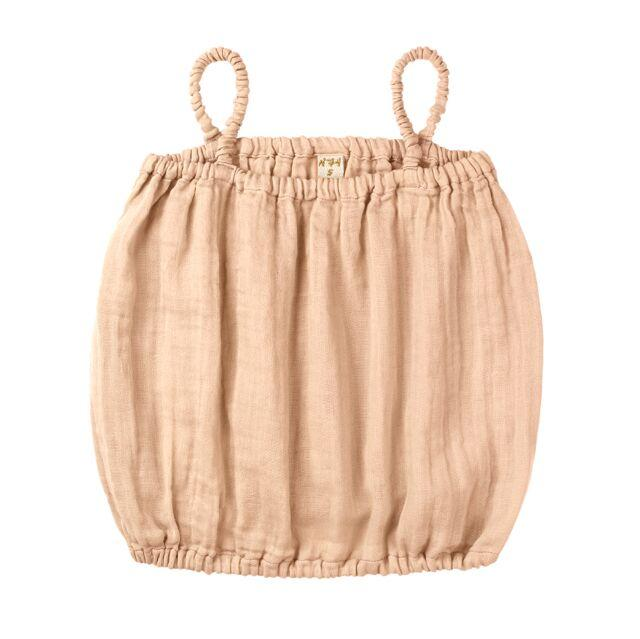Numero 74 Chloe Top Pale Peach Tops & Tees - Tiny People Cool Kids Clothes