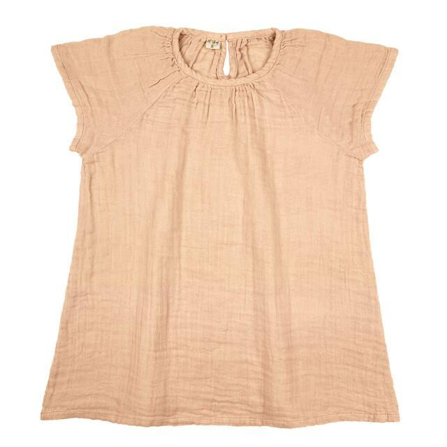 Numero 74 Clara Dress Pale Peach - Tiny People Cool Kids Clothes Byron Bay