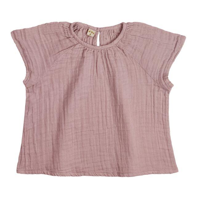 Numero 74 Clara Top Dusty Pink Tops & Tees - Tiny People Cool Kids Clothes