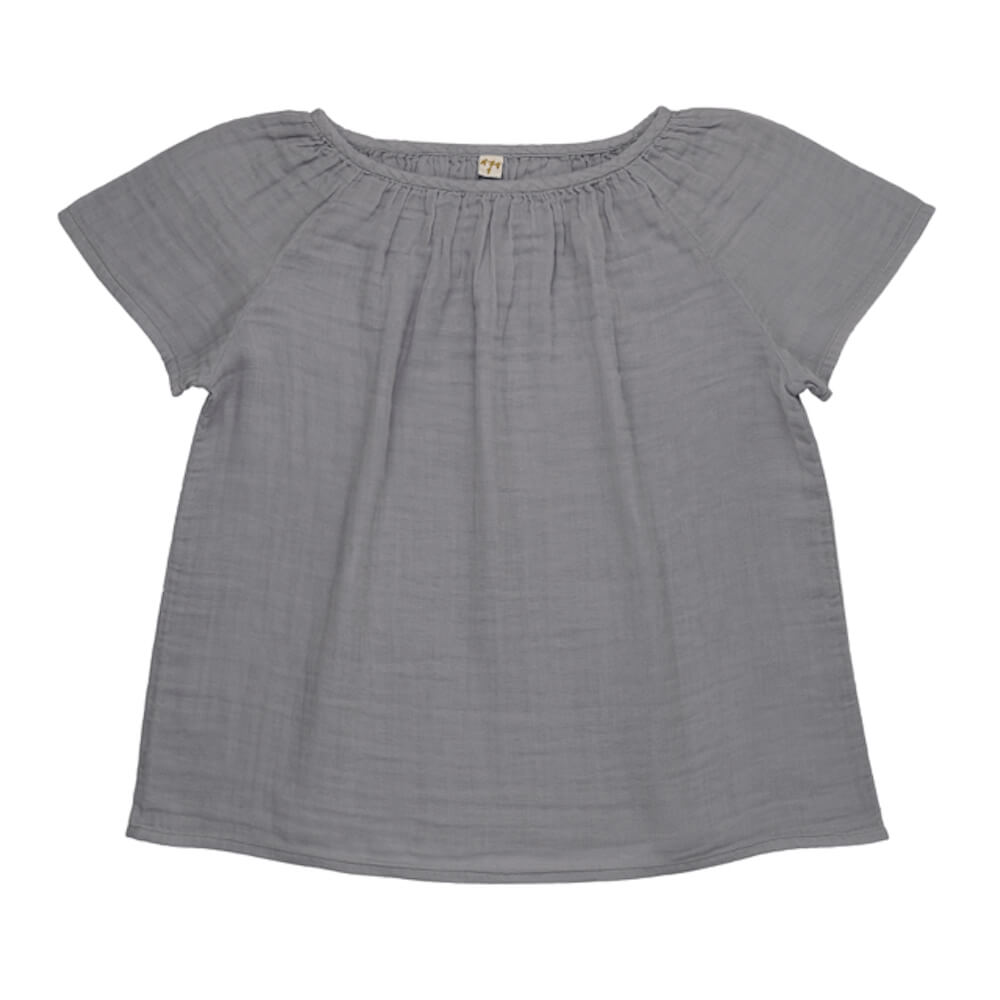 Numero 74 Clara Top Women's Stone Grey | Tiny People