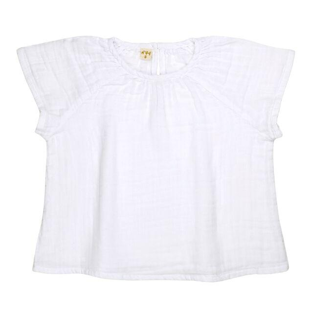 Numero 74 Clara Top White Tops & Tees - Tiny People Cool Kids Clothes