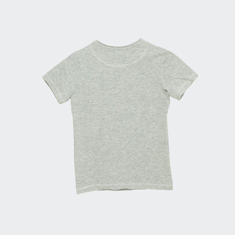 I Dig Denim Como Tee - Grey Melange - Tiny People Cool Kids Clothes Byron Bay