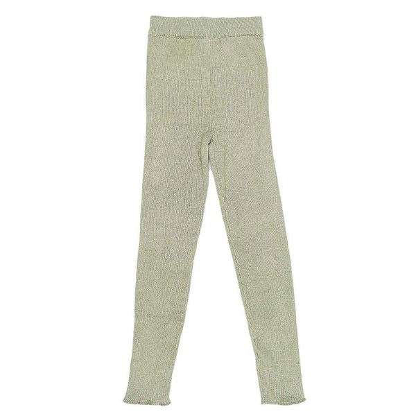 Bella & Lace Leggings Moss Green - Tiny People Cool Kids Clothes Byron Bay