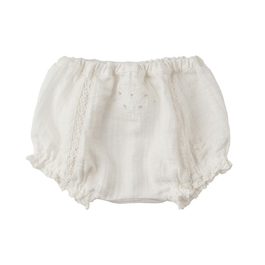 Tocoto Vintage Lace Bloomer Ecru - Tiny People Cool Kids Clothes Byron Bay
