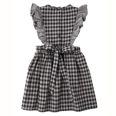 Tocoto Vintage Check Dress - Tiny People Cool Kids Clothes Byron Bay