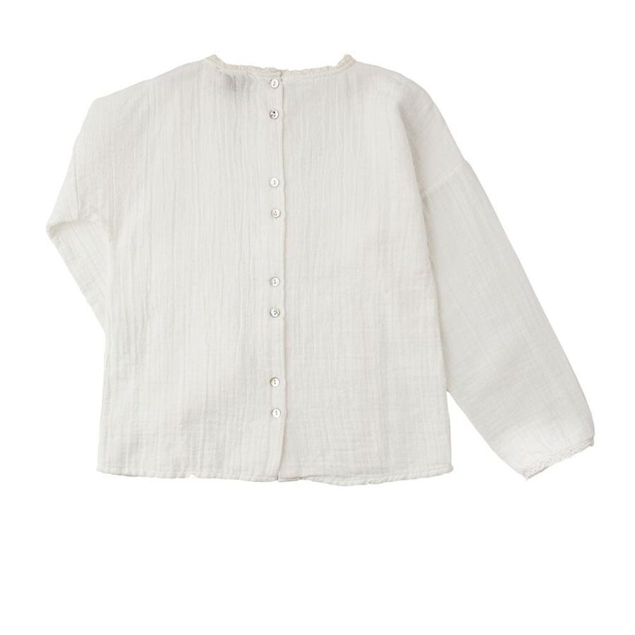 Tocoto Vintage Lace Blouse - Tiny People Cool Kids Clothes Byron Bay