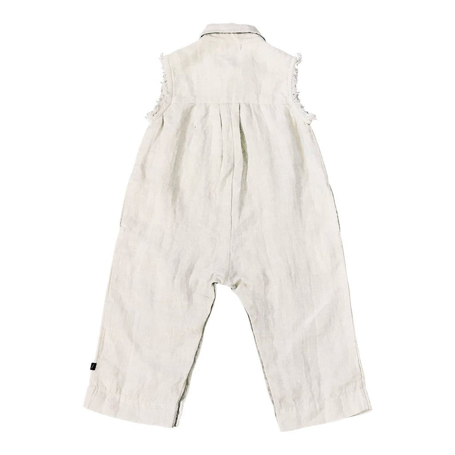 Feather Drum Baby Dillon Jumpsuit - Storm - Tiny People Cool Kids Clothes Byron Bay