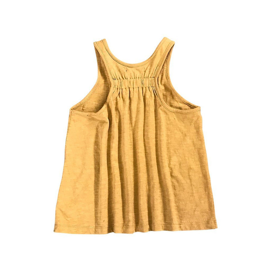 Feather Drum Waiola Singlet Honey - Tiny People Cool Kids Clothes Byron Bay