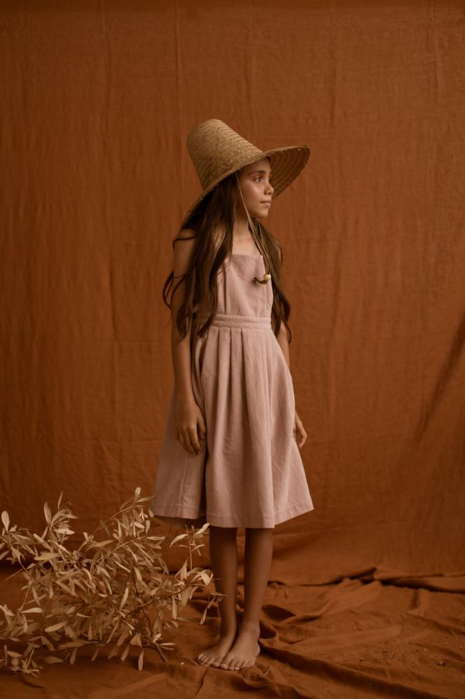 Feather Drum Penelope Velvet Dress - Dusk - Tiny People Cool Kids Clothes Byron Bay