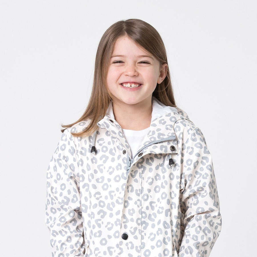 Play Jacket Grey Leopard