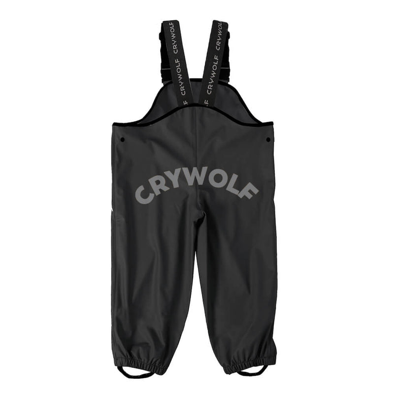 Crywolf Rain Overalls Black | Tiny People
