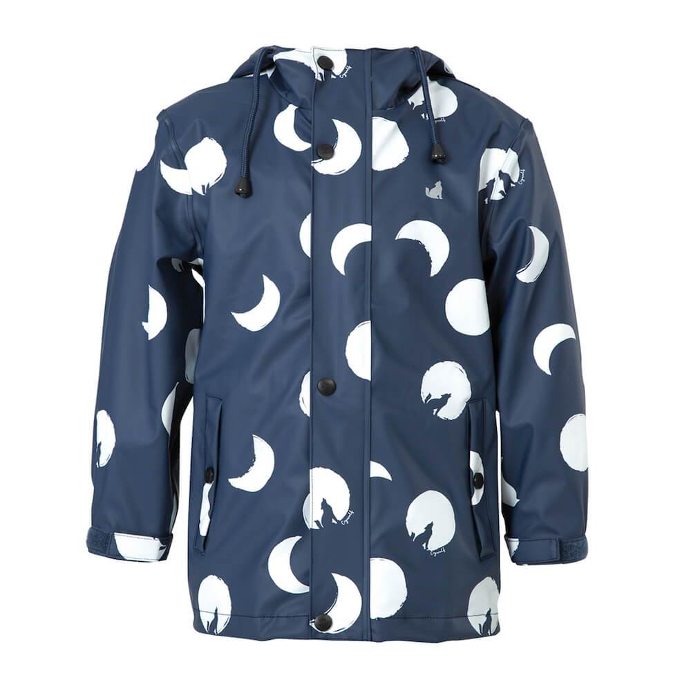 Crywolf Play Jacket Blue Moon Rain Coat at Tiny People Shop Australia.