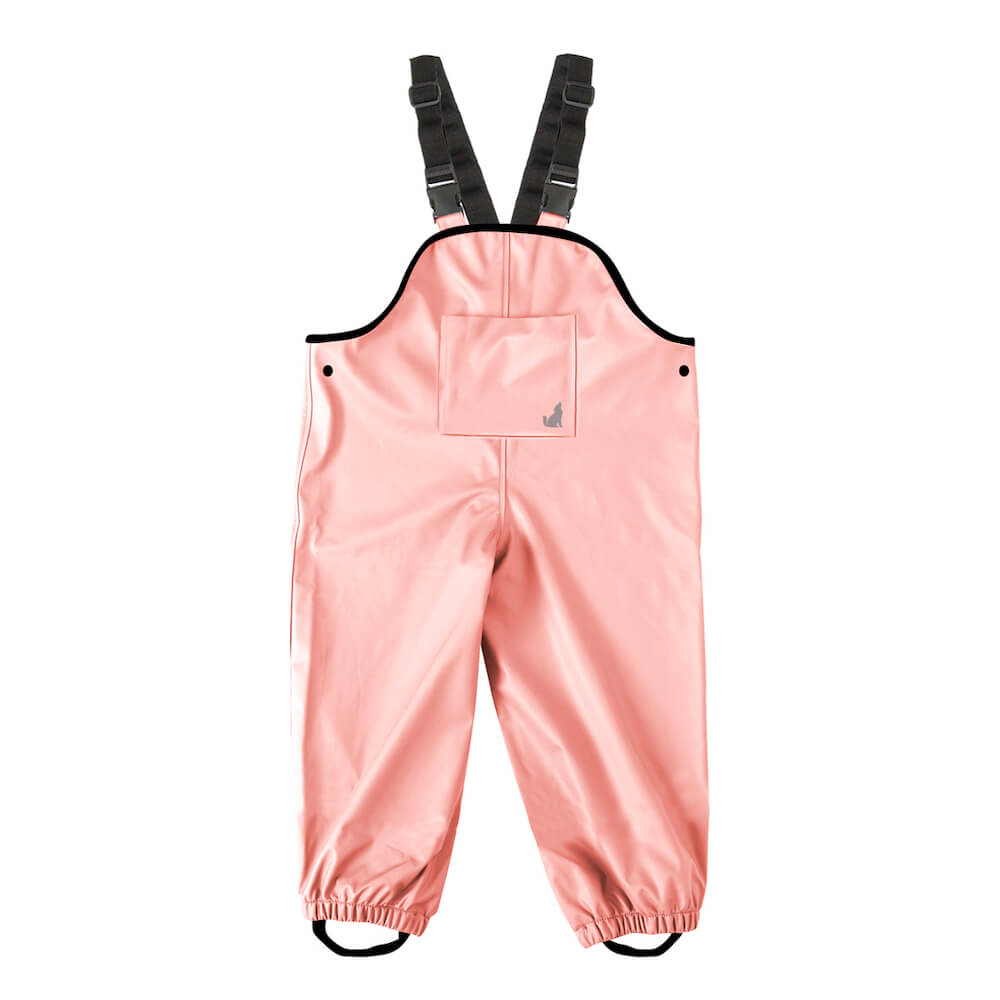 Crywolf Rain Overalls Blush | Tiny People