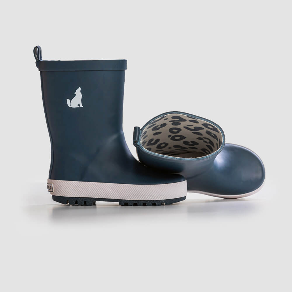 Crywolf Rain Boots Midnight Blue | Tiny People