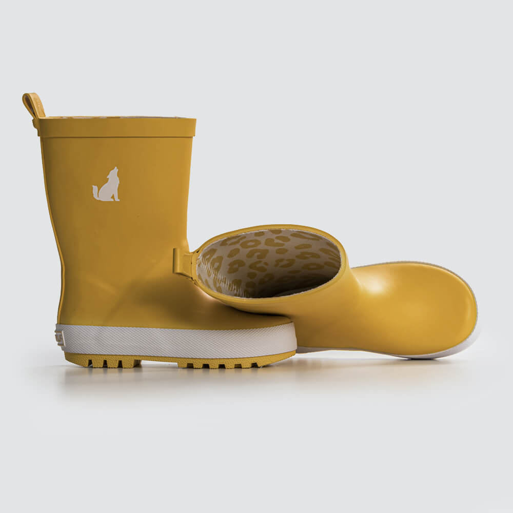 Crywolf Rain Boots Mustard | Tiny People