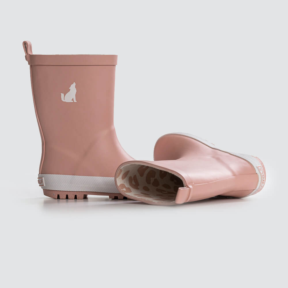 Crywolf Rain Boots Rose | Tiny People