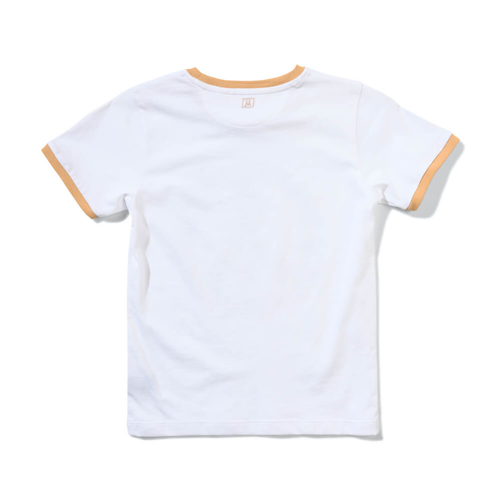 Munster Daisy Peace Tee White | Tiny People